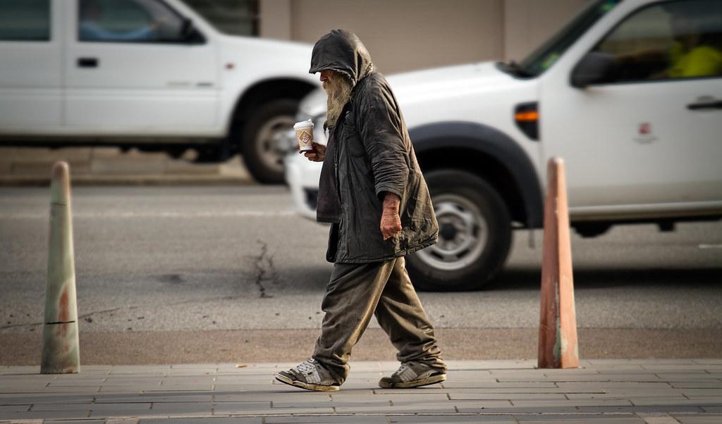 Newcastle Homeless Man Newcastle's Homeless Man
