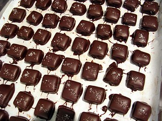 salted butter caramel chocolates | by David Lebovitz