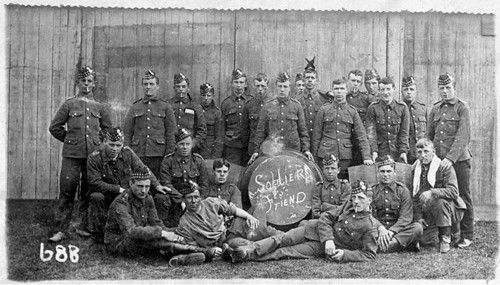 C Company 3rd Royal Scots Fusiliers At Barry Buddon Camp