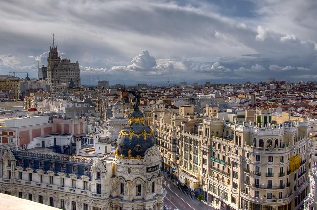 Skyline al noroeste hdr perspectiva de madrid hacia el for Madrid noroeste