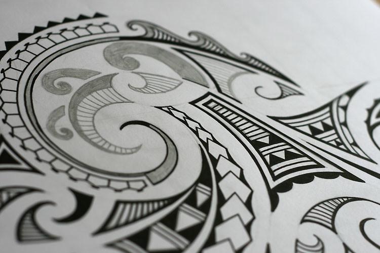 photo maori tattoo design images a work in progress a mao flickr. Black Bedroom Furniture Sets. Home Design Ideas
