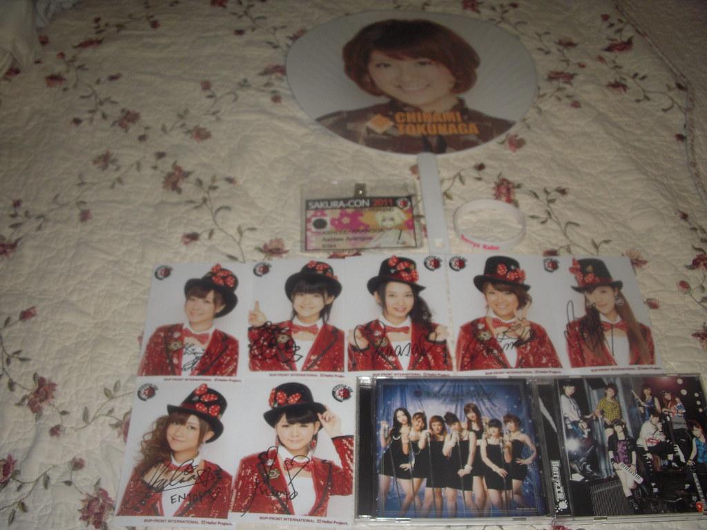 Berryz Kobo merchandise from Sakura Con 2011 ...