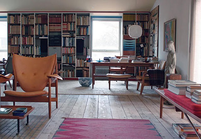 finn juhl mid century loft danish modern with pops of re flickr. Black Bedroom Furniture Sets. Home Design Ideas