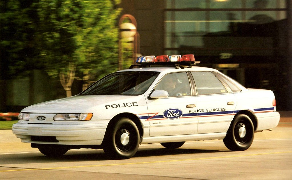 & 1993 Ford Taurus Police Car | Alden Jewell | Flickr markmcfarlin.com