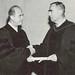 Rabbi Narot receives honorary degree of Doctor of Divinity -1965