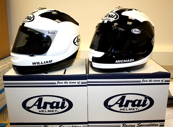 Dunlop Helmets | William and Michael Dunlop's 2011 helmet ...