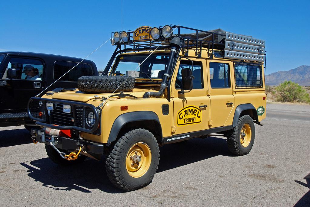 Land Rover Defender 110 Camel Trophy Dan Amp Leila