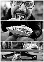 Triptychs of Strangers #11, The Hungry Typograph - Hamburg