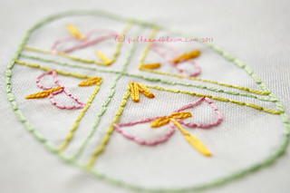 2011 Easter Eggs embroidery pattern | by Carina » Polka & Bloom