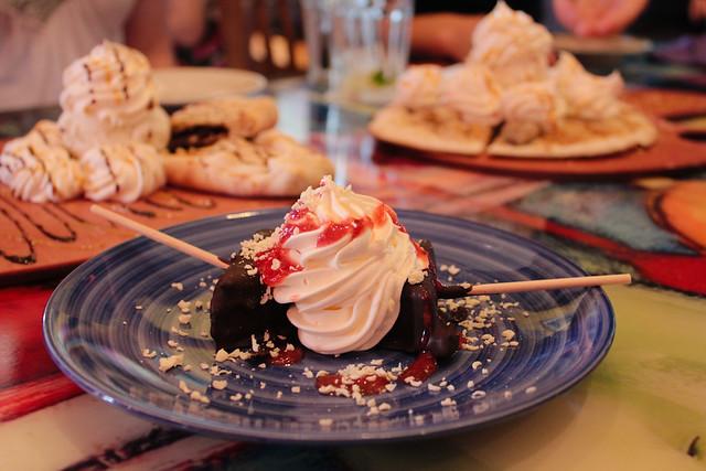 Chocolate dipped cheesecake lollipops | At Cafe tu tu ...