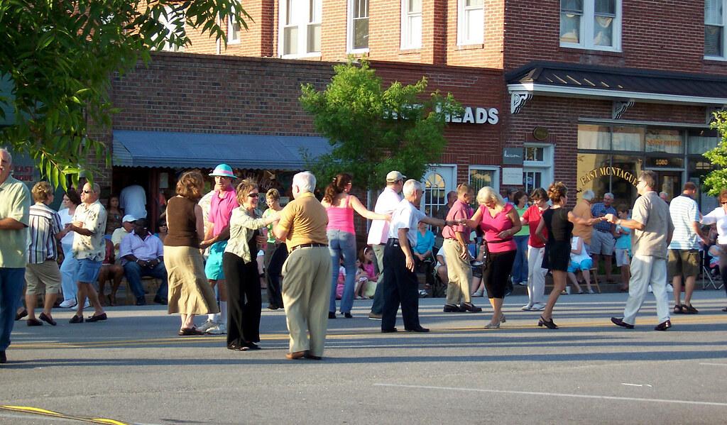 Olde Village Street Dance The Olde Village Section Of