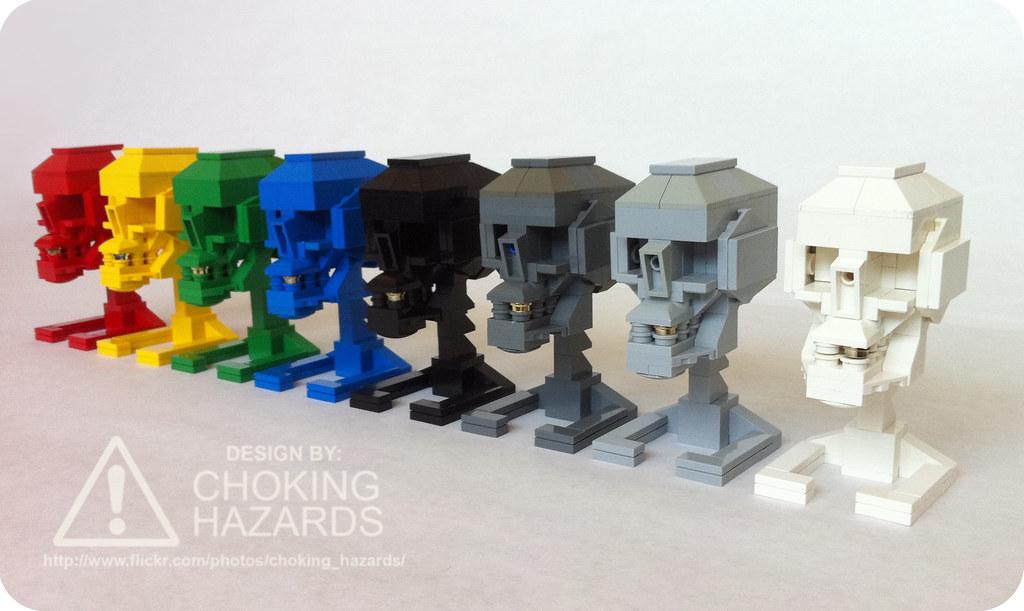 Lego Skull Instructions Build Your Own Finally Got Aroun Flickr