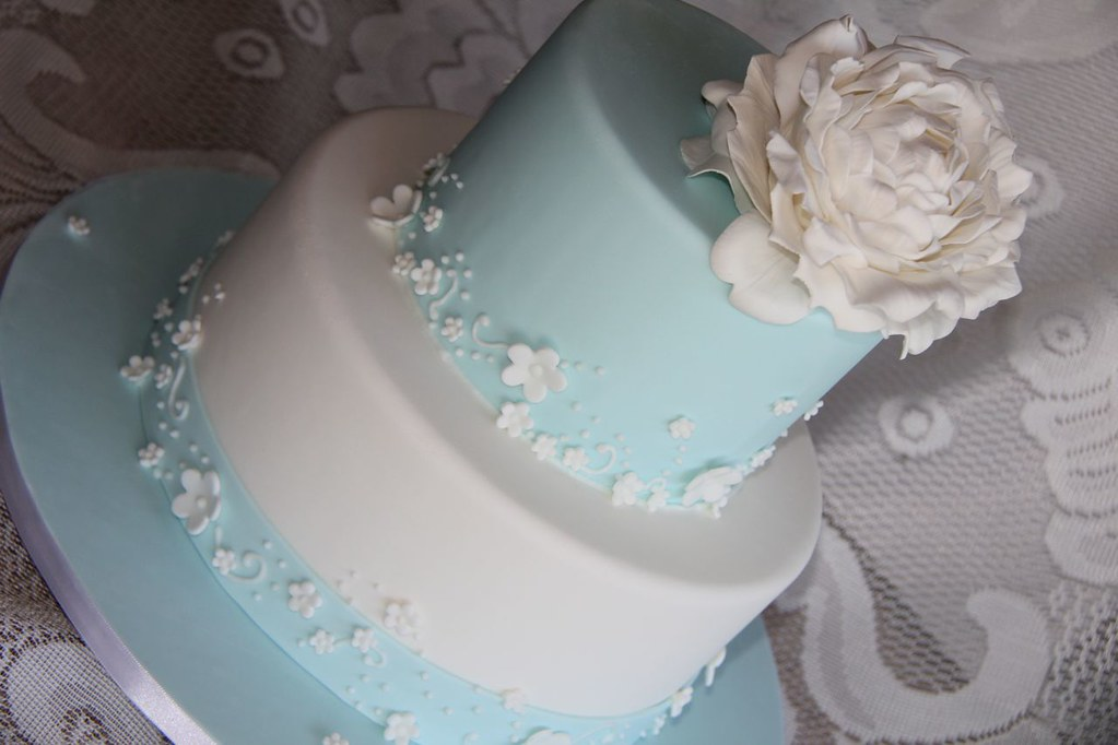 Images Of Tiffany Blue Cakes