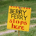 berry ferry sign