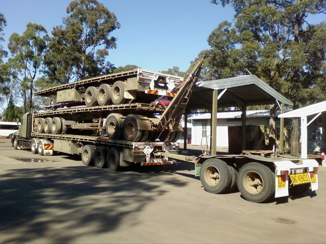 how to reverse a triple road train
