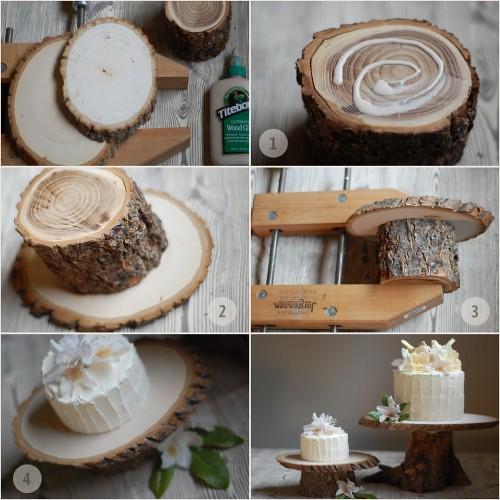 Stump Cake Stand