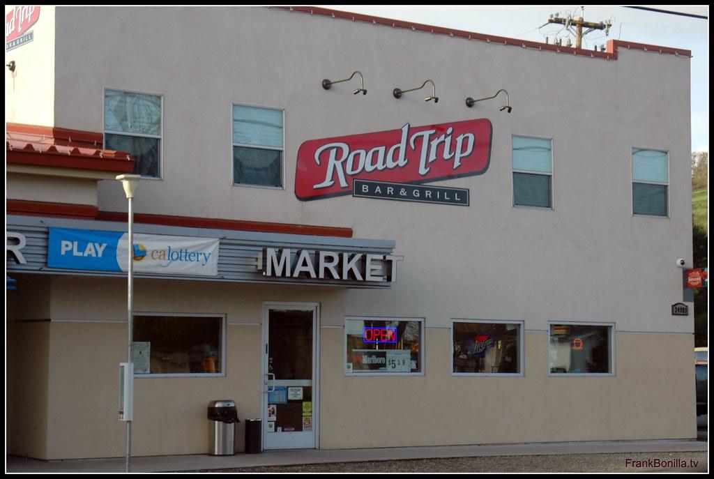 Road Trip Bar & Grill, in Capay, California | The Road
