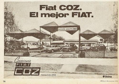 Ercilla 1978 Diciembre 20 al 26 Fiat COZ