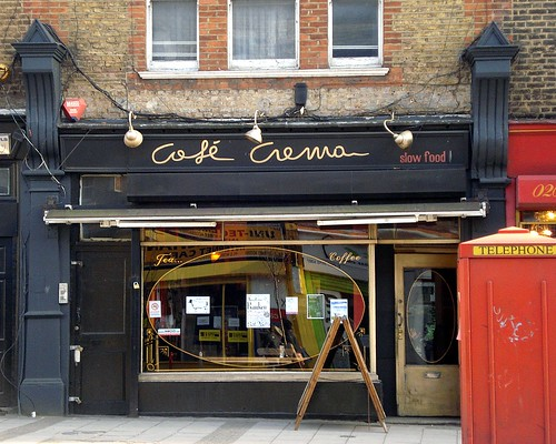 Cafe Crema New Cross Opening Times