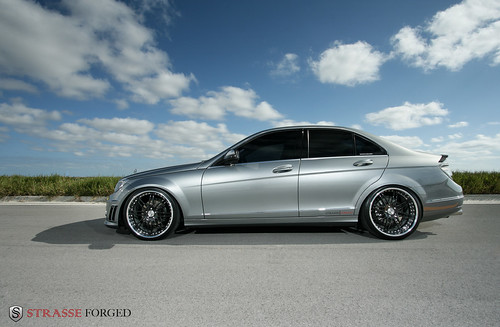 Strasse forged wheels mercedes c300 flickr photo sharing for Mercedes benz rims c300