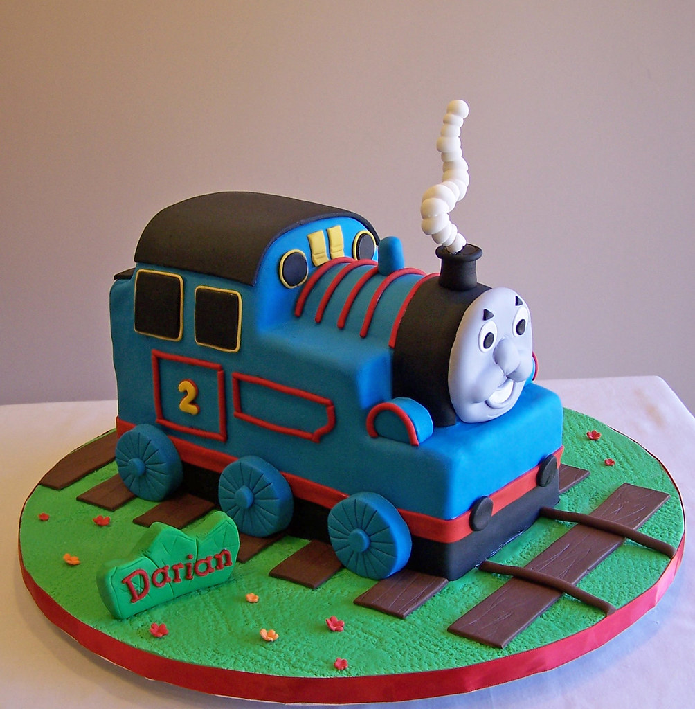 Thomas The Tank 3d Cake It Doesn T Matter How Many Times