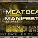 Meat Beat Manifesto Flyer