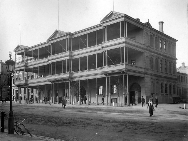 South australian hotel north terrace 1907 flickr for 195 north terrace adelaide
