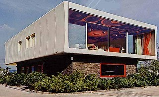 kunststoffhaus prefab house 1968 | by mod*mom