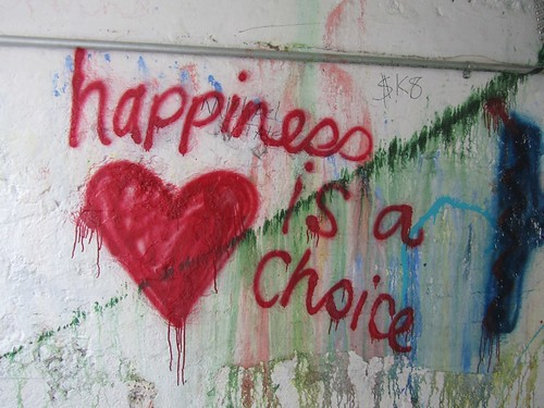 happiness is a choice | by Laura Grace
