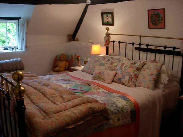 Cottage bedroom flickr photo sharing for Country cottage bedroom