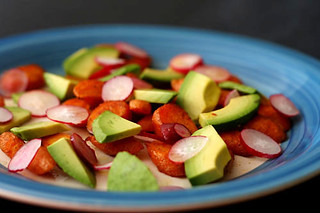 carrot avocado salad 4 | by crumblycookie