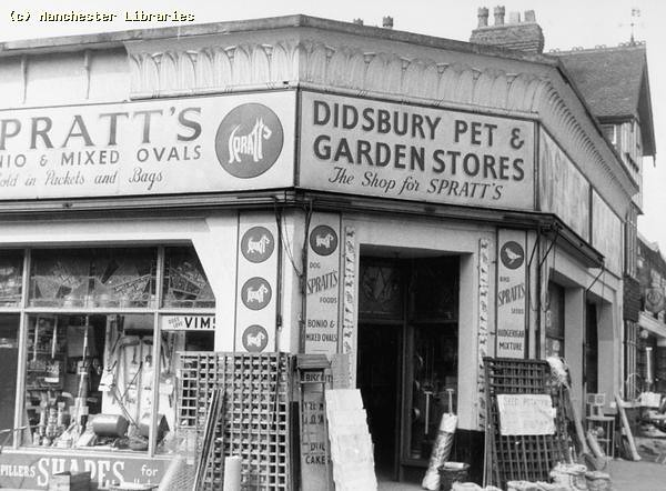 Didsbury pet and garden store wilmslow rd north st 1959 for Gardening jobs manchester