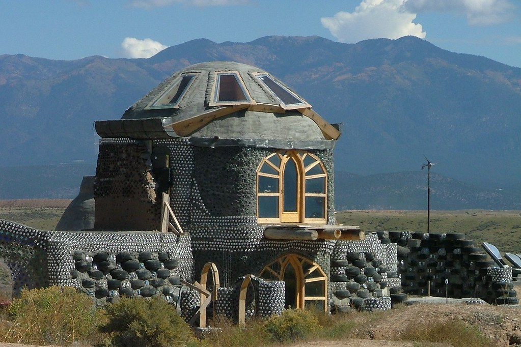 Earthship Home Interesting House In The Quot Sustainable