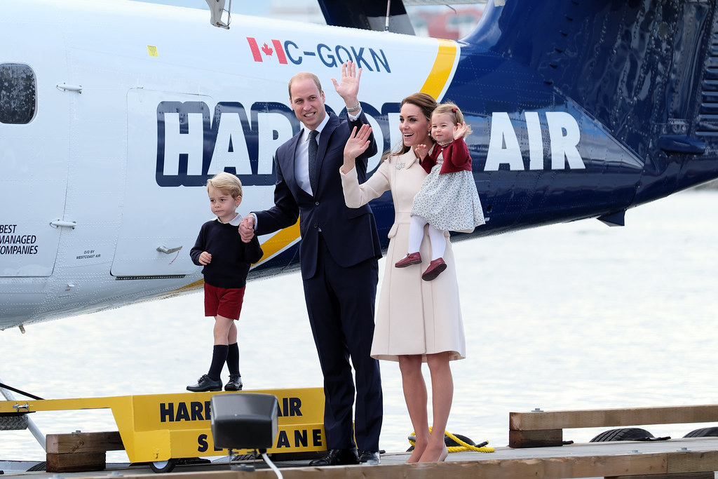 Their Royal Highnesses the Duke and Duchess of Cambridge in Kelowna, B.C.