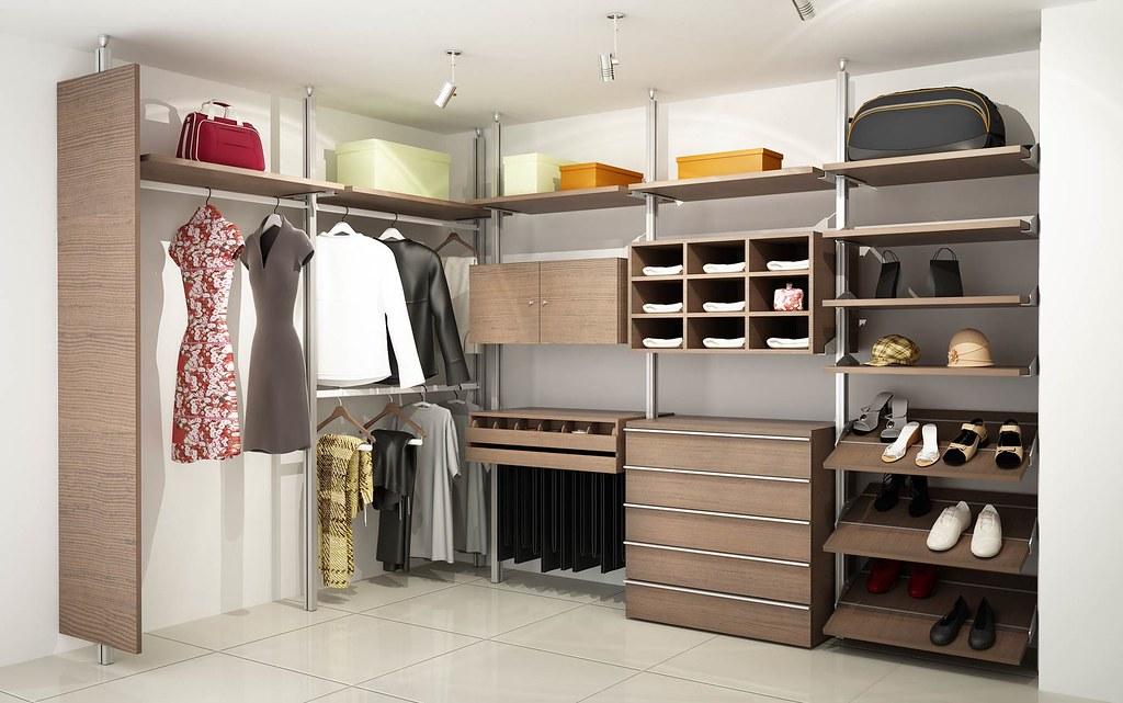 Closets modular linea status orbis home closets for Closet con zapatera