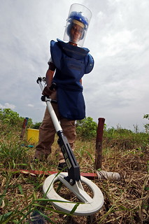 Manual demining | by United Nations Development Programme