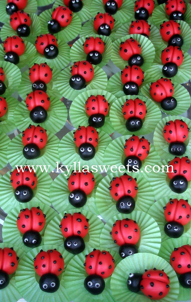 ladybug candy treats