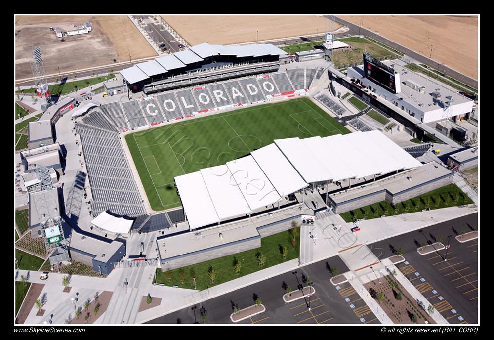 Colorado Rapids Mls Stadium Denver Aerial Of Dick S