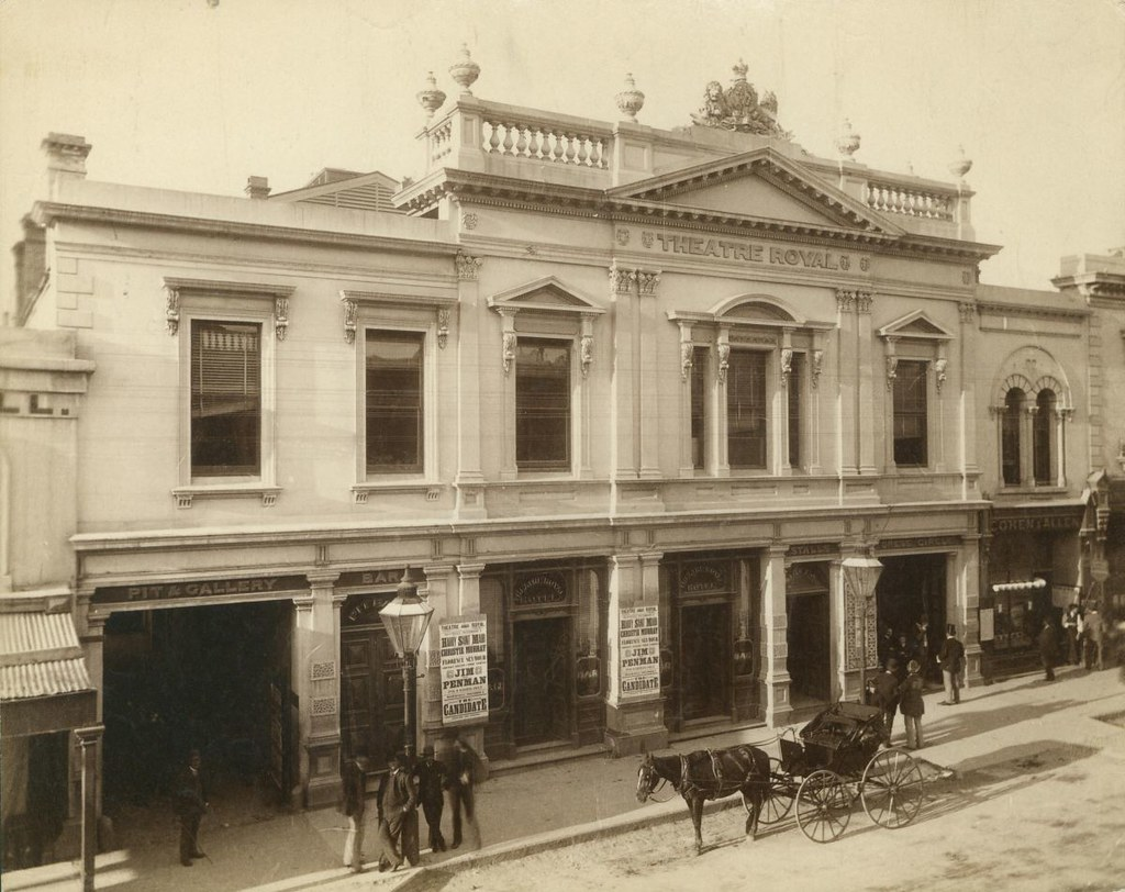 theatre royal hindley street 1890 b 2909 the theatre. Black Bedroom Furniture Sets. Home Design Ideas