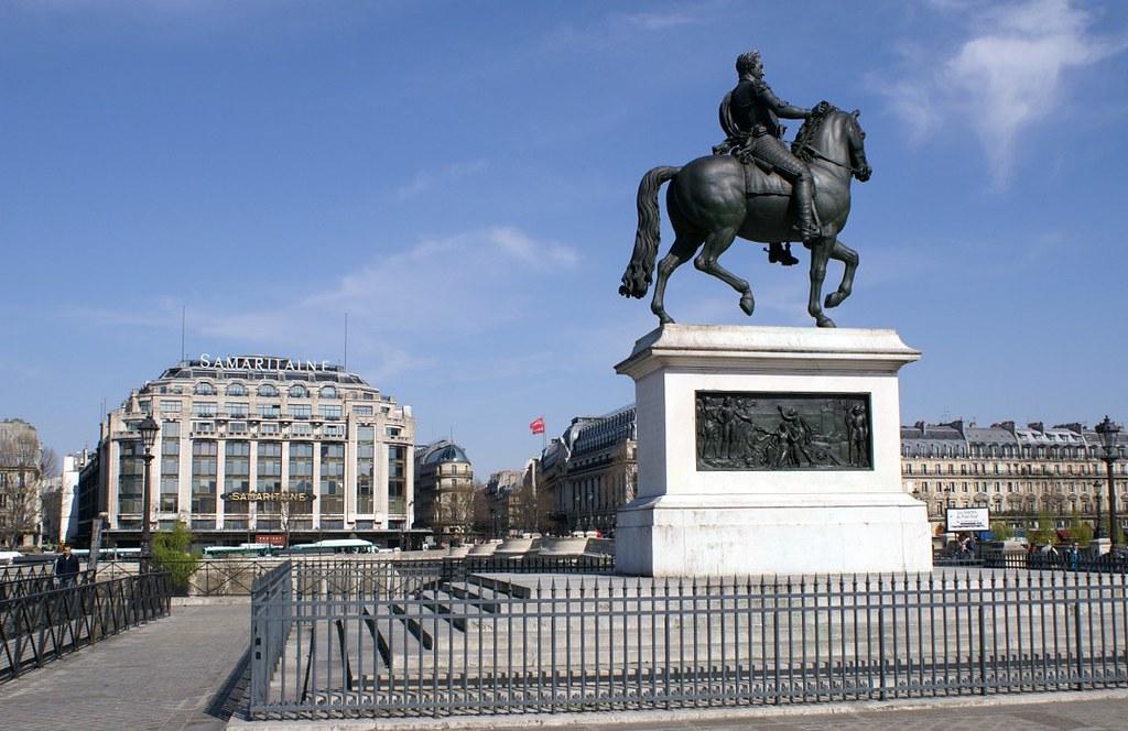 p40 paris king henry iv statue ile de la cit this statu flickr. Black Bedroom Furniture Sets. Home Design Ideas