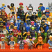 LEGO Collectible Minifigures Series 1 ~ 4 (All 64 Minifigures)