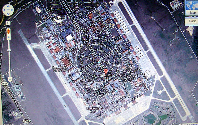 San Antonio S Randolph Air Force Base Google Maps