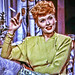 """Movie Star Lucille Ball is Smoking Red in """"Easy to Wed"""""""