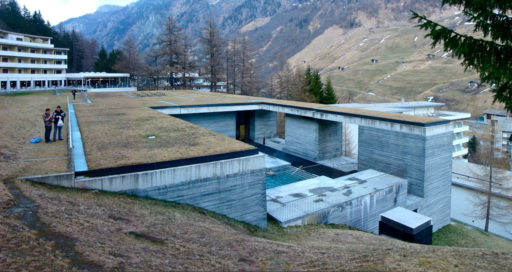 All sizes | Thermal Baths by Peter Zumthor - Vals, Switzerland ...