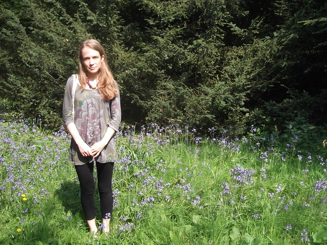 Heather With Bluebells Beautiful Scenery Photography