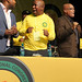 African National Congress Youth League conference in South Africa featured the President Julius Malema as well as President Jacob Zuma. Malema won re-election easily over the youth wing of the ruling party.