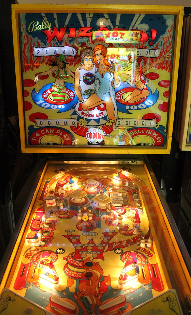 The Tommy Pinball Wizard Pinball Machine Late 1970 S Flickr