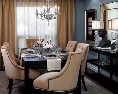 Blue Gray Dining Room Benjamin Moore Cloudy Sky Flickr