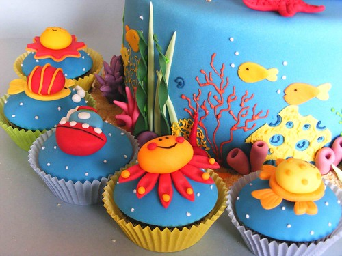 Sea cupcakes | by bubolinkata
