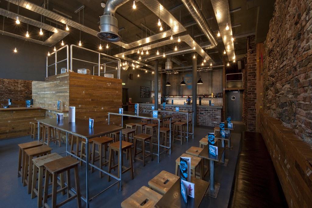 Restaurant bar design awards brewdog aberdeen